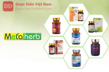 Thương hiệu siêu dược phẩm Metaherb