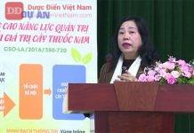 Dự án Nâng cao năng lực quản trị chuỗi giá trị cây thuốc Nam