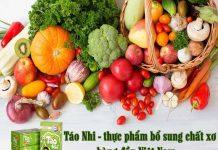 Thực phẩm bổ sung chất xơ Táo Nhi