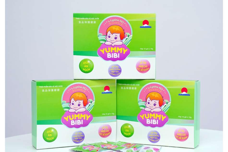 Thạch rong nho Yummy BiBi chứa nhiều dưỡng chất cần thiết cho trẻ