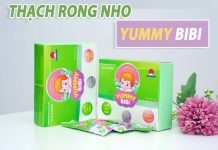 Thạch rong nho Yummy BiBi
