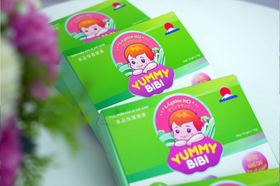 Yummy Bibi - Sự lựa chọn hàng đầu dành cho trẻ biếng ăn