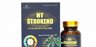 HT Strokend - Đánh tan cục máu đông, phòng ngừa tai biến đột quỵ