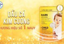 Hãy cùng Lifeline Care Child - Dầu cá Kim Cương đồng hành cùng con trên những bước đi đầu đời!