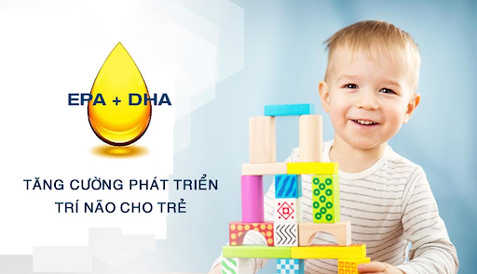 Tầm quan trọng của DHA với não bộ của trẻ nhỏ
